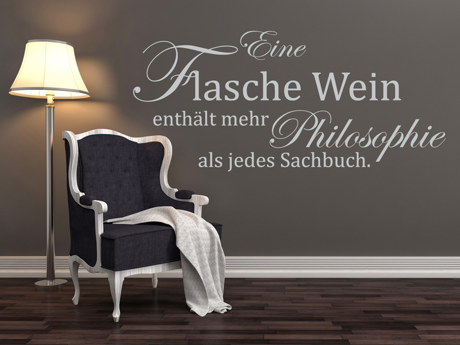 wandtattoos spr che zitate online bestellen im shop. Black Bedroom Furniture Sets. Home Design Ideas