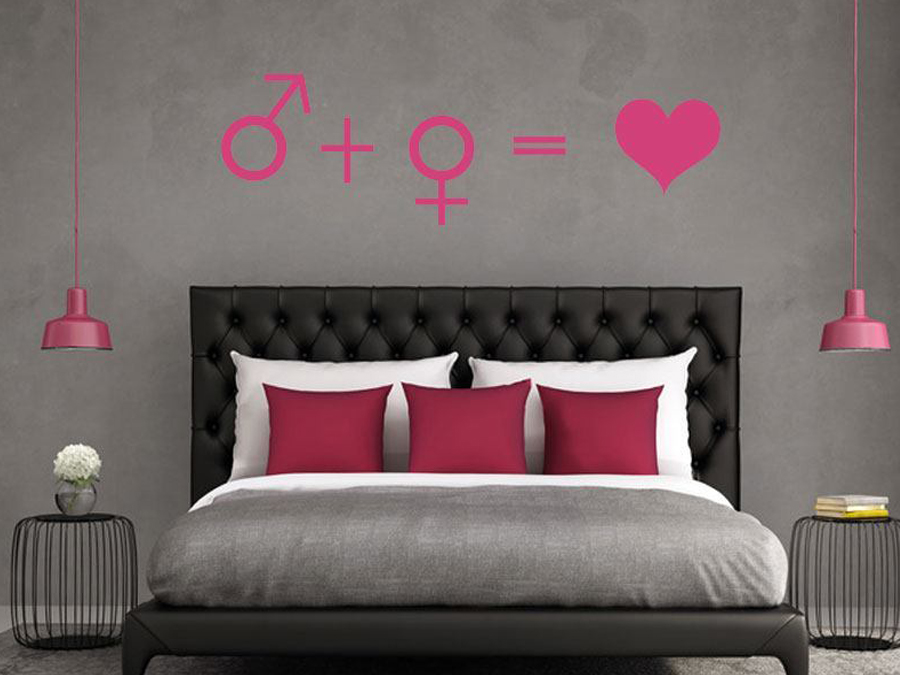 wandtattoos liebe online bestellen im shop. Black Bedroom Furniture Sets. Home Design Ideas