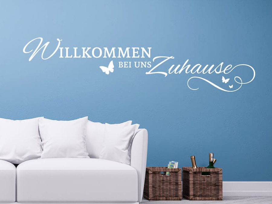 wandtattoos spr che zitate online bestellen im wandfolio. Black Bedroom Furniture Sets. Home Design Ideas