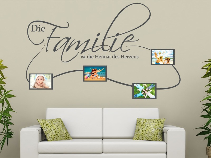 wandtattoo familienfotos online bestellen im shop. Black Bedroom Furniture Sets. Home Design Ideas