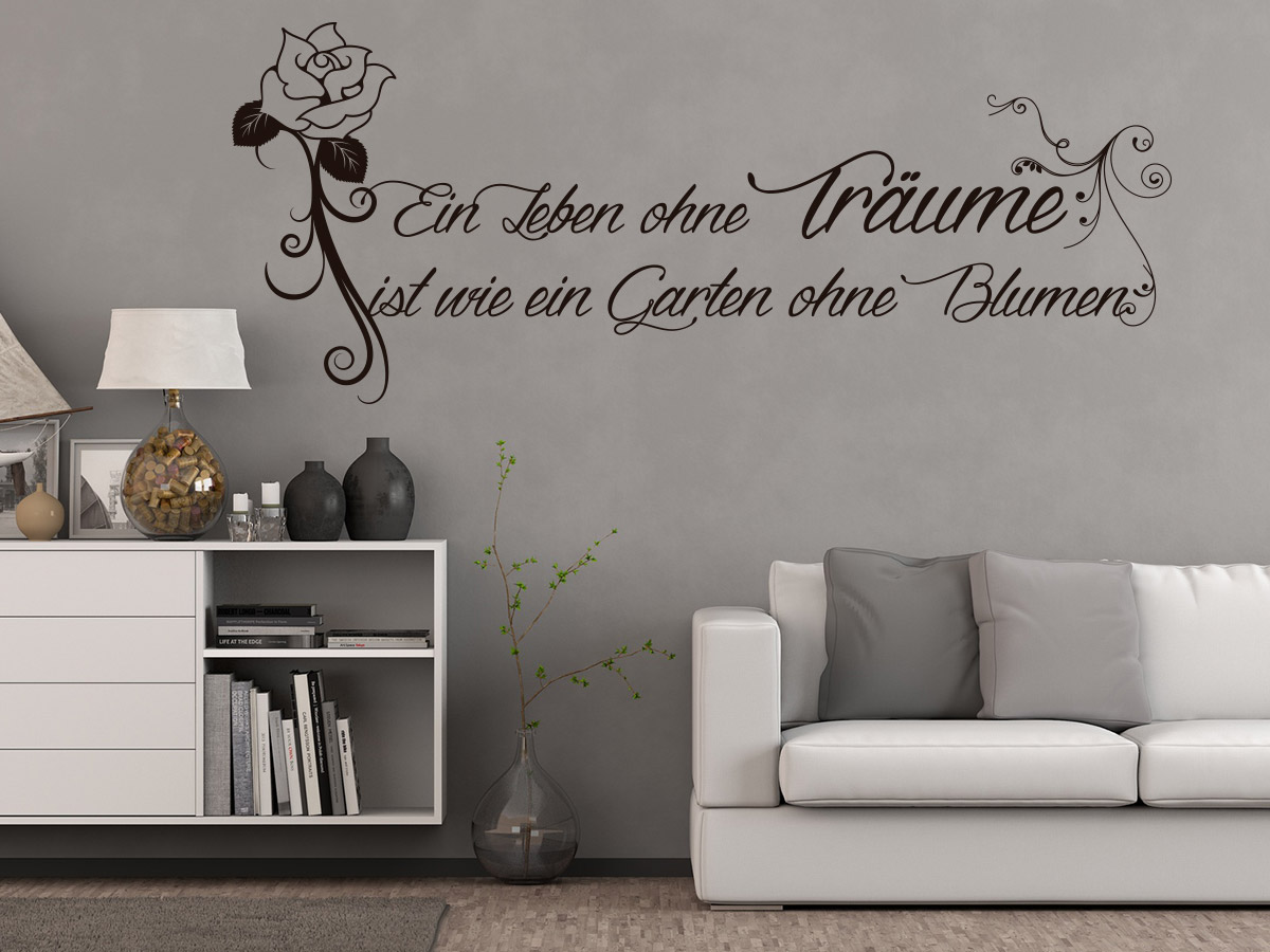 wandtattoo garten ohne blumen online bestellen im shop. Black Bedroom Furniture Sets. Home Design Ideas